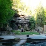 Umgebung Felsenbühne Rathen/ Bastei