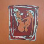Kunst von roberto degli, Gast in Ferienwohnung Sächsische Schweiz