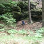 Wanderung zum Kuhstall/ Sächsische Schweiz